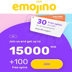 emojino casino no deposit bonus