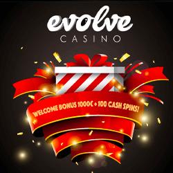 evolve casino no deposit bonus