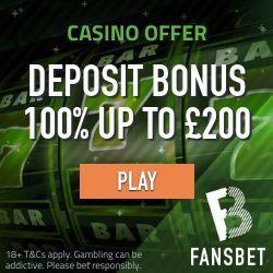 fansbet casino no deposit bonus