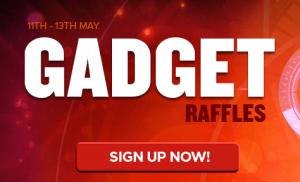 gadget raffles from nextcasino