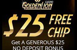 golden lion casino no deposit bonus