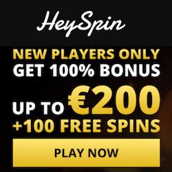 heyspin casino no deposit bonus