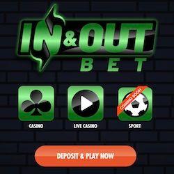 inandout bet casino no deposit bonus