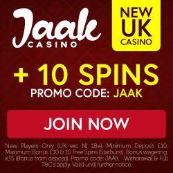 jaak casino no deposit bonus