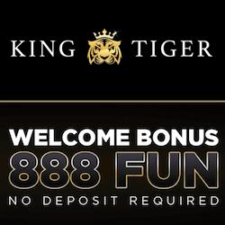 king tiger casino no deposit bonus