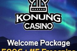 konung bitcoin casino no deposit bonus