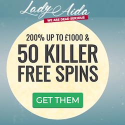 lady aida casino no deposit bonus