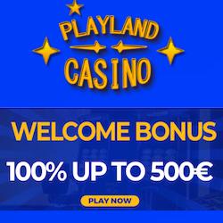 playland casino no deposit bonus