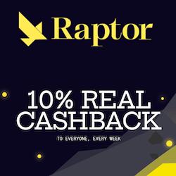 raptor casino no deposit bonus