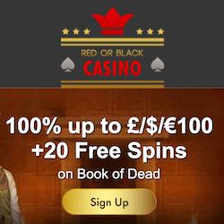 red or black casino no deposit bonus