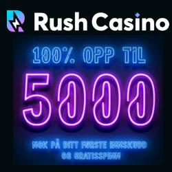 rush casino no deposit bonus