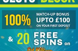 slots block casino no deposit bonus