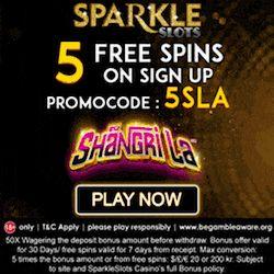 sparkle slots casino no deposit bonus