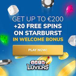 spin lovers casino no deposit bonus