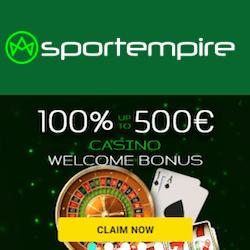 sportempire casino no deposit bonus