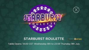 starburst roulette mrgreen