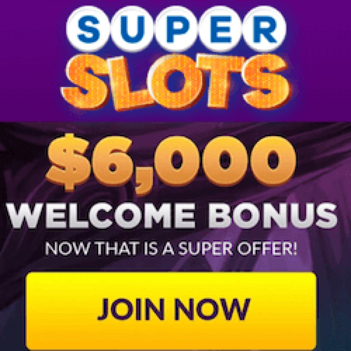 Super Slots Casino 300 Deposit Match Bonus Up To 00