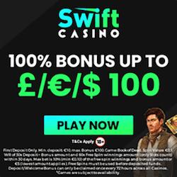 swift casino no deposit bonus