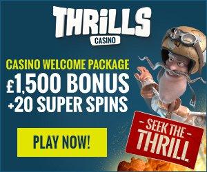 thrills super spins bonus