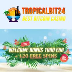 tropicalbit24 casino no deposit bonus