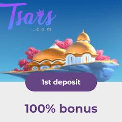 tsars casino no deposit bonus