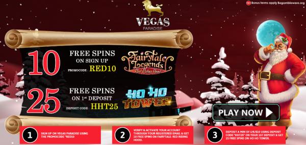 vegas paradise casino no deposit