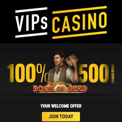 vips casino no deposit bonus
