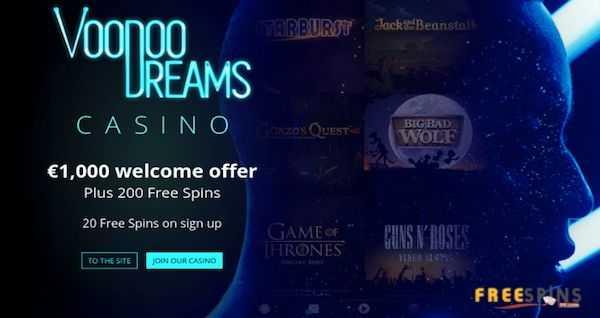 voodoodreams casino no deposit bonus