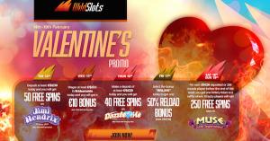 wildslots casino valentine's promo