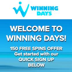 winning days casino no deposit bonus