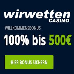 wirwetten casino no deposit bonus